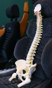 gerinc-vezetés-közben